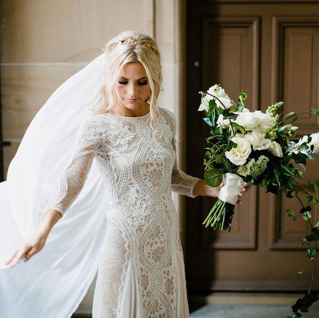 rens brudekjole