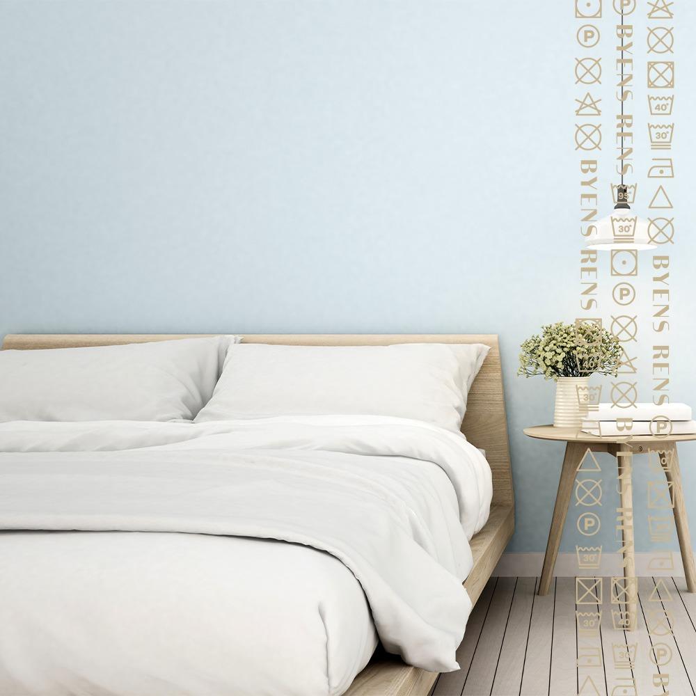 Vask og rul af sengetøj